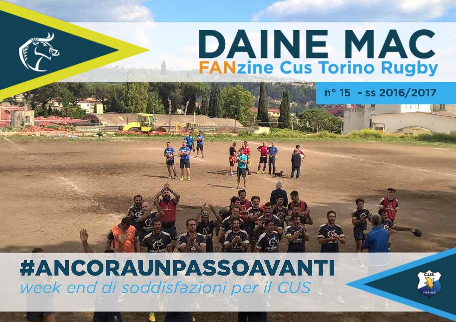 Daine Mac Fanzine CUS Torino Rugby