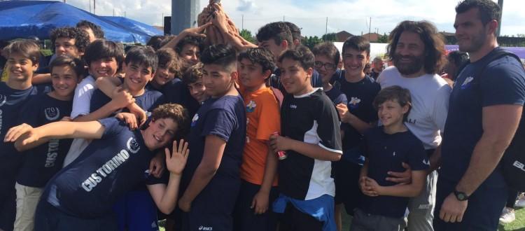 Cus Torino Under 14 vince Torneo della Torre
